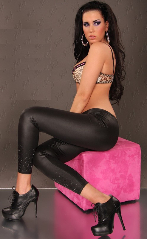 Sexy BLack Leggings for women ML7624