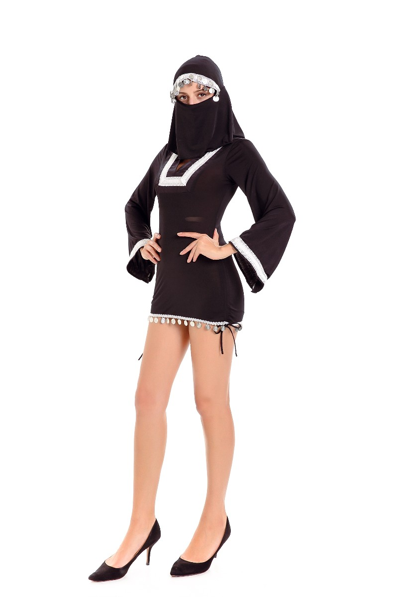 ML5594 Black Dress Halloween Womens Cosplay