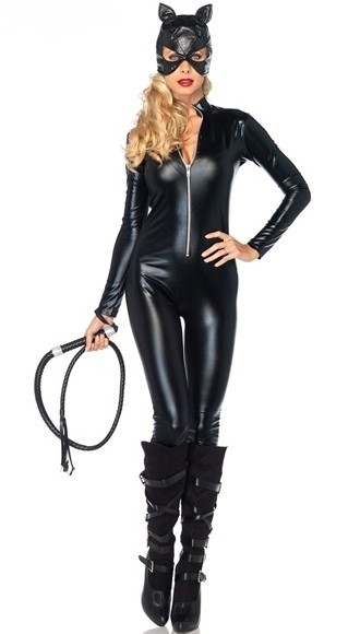 New Arrival Sexy Cat Jumpsuit Costume