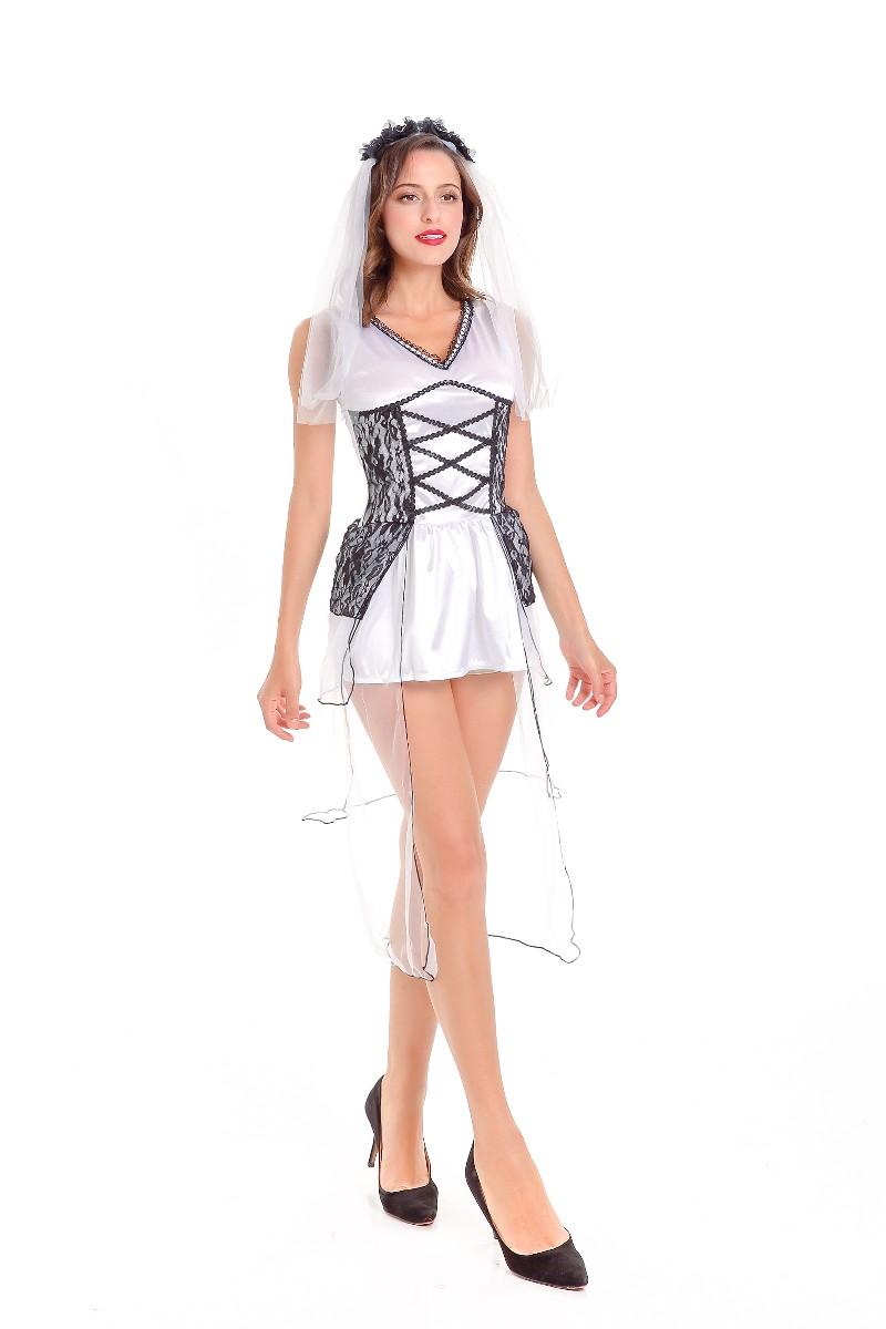 ML5577 Sexy Cosplay Bride Dress Costume