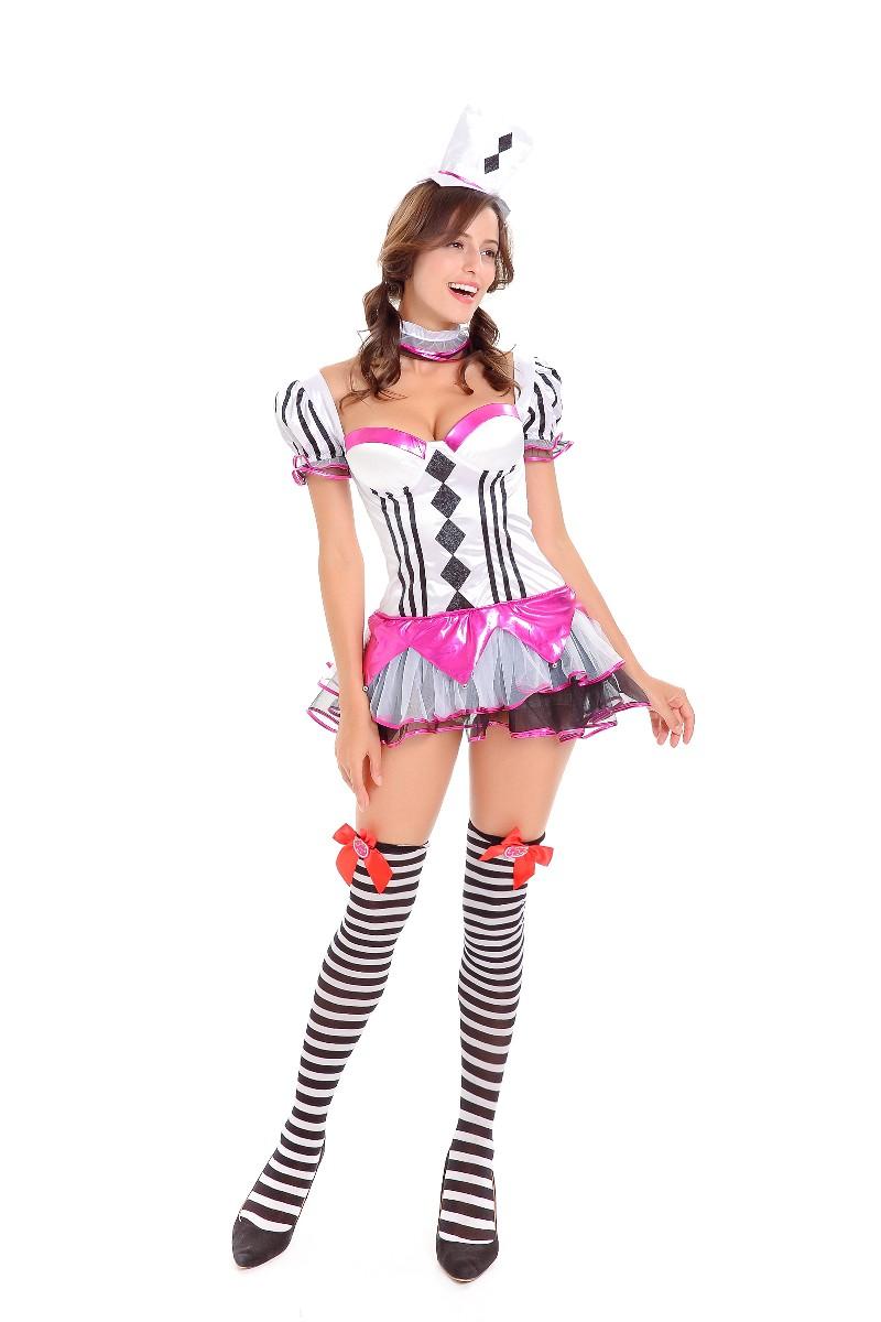 ML5579 Sexy Poker Halloween Womens Costume