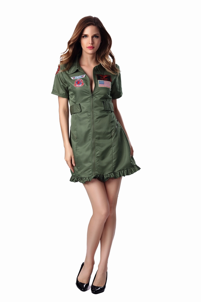 ML5469 Sexy Military Dress Costumes