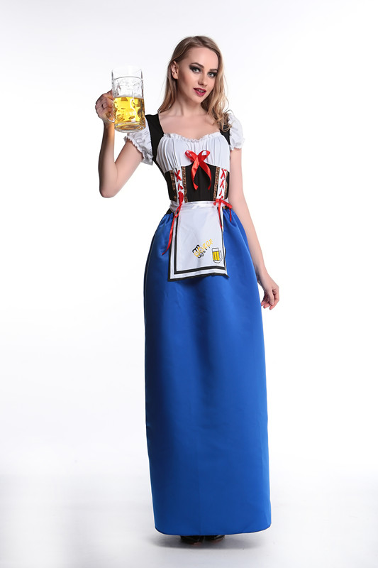 ML5477 Long Party Beer Girl Costumes