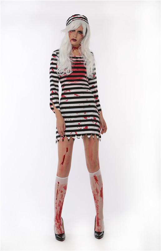 ML5510 Sexy Stripe Dress Easter Costume