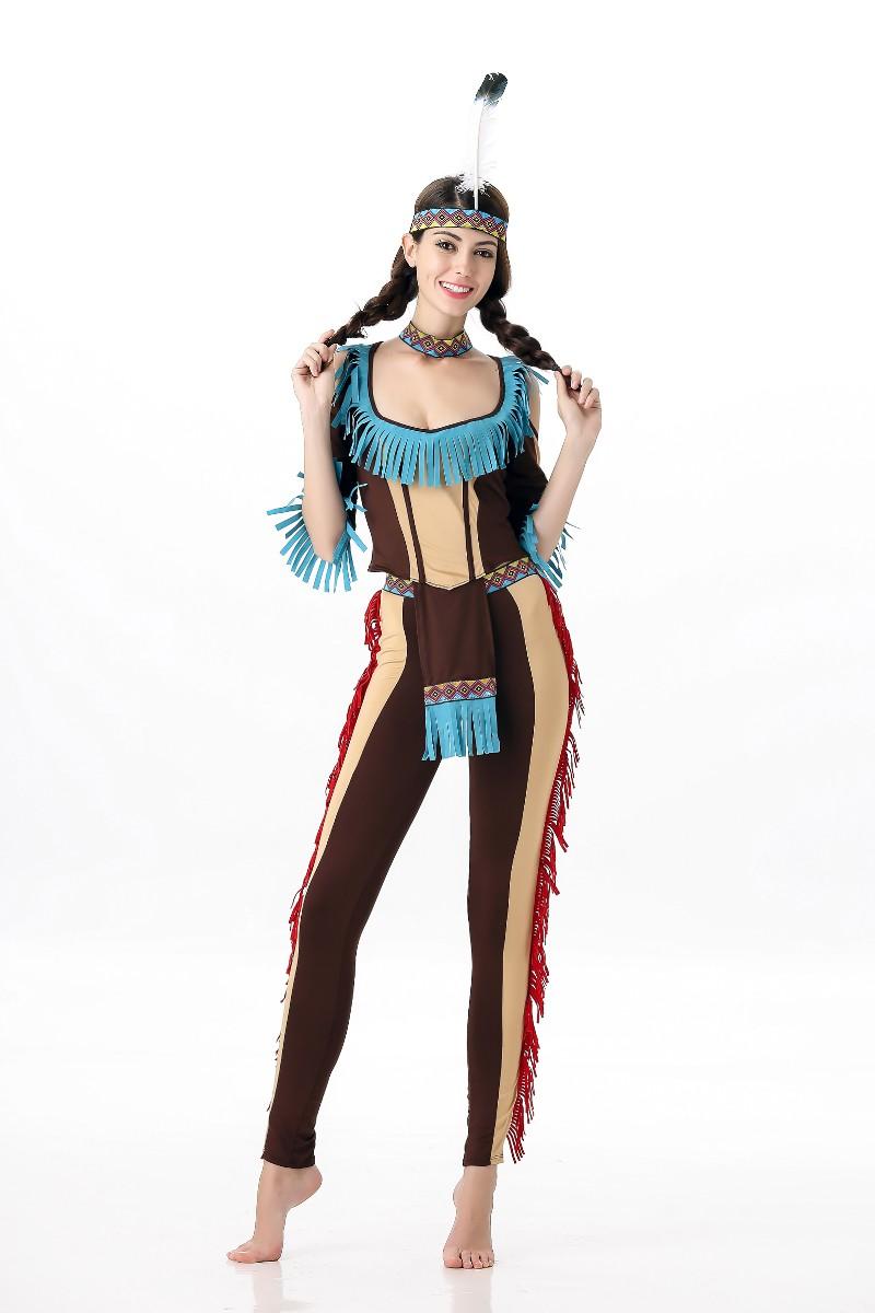 ML5552 Sexy Indian Women Costume