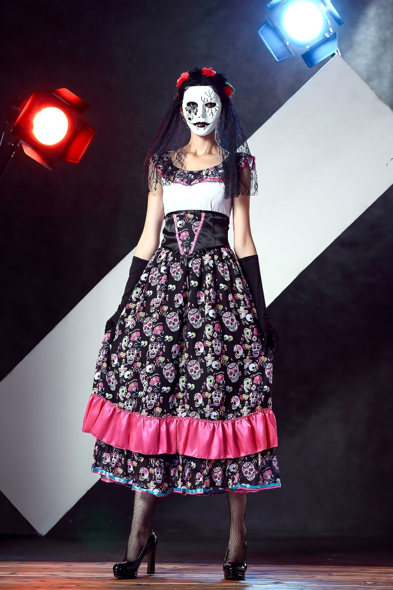 ML5567 Fantastic Lady Halloween Party Cosplay Dress