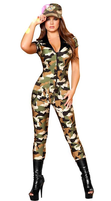 ML5570 Fashion New Camo Military Costumes