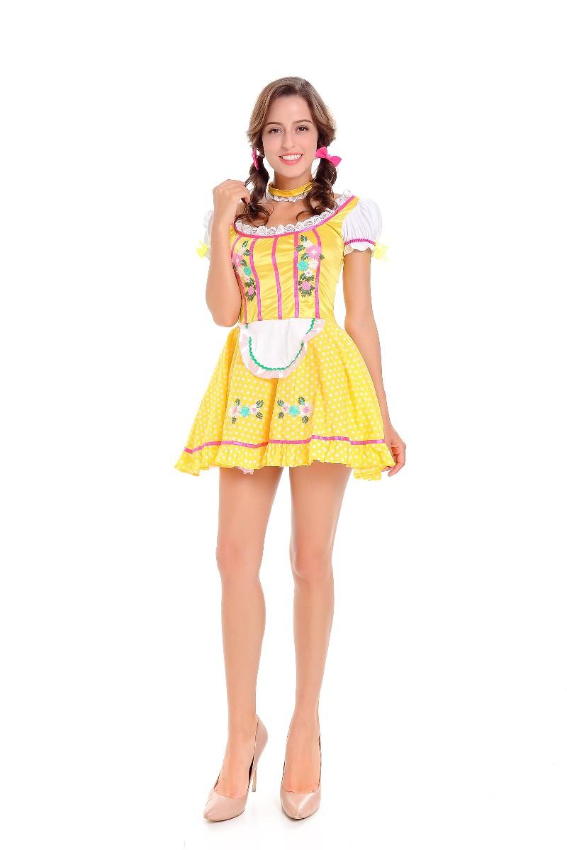ML5580 Cute Beer Lady Cosplay Dress Costume