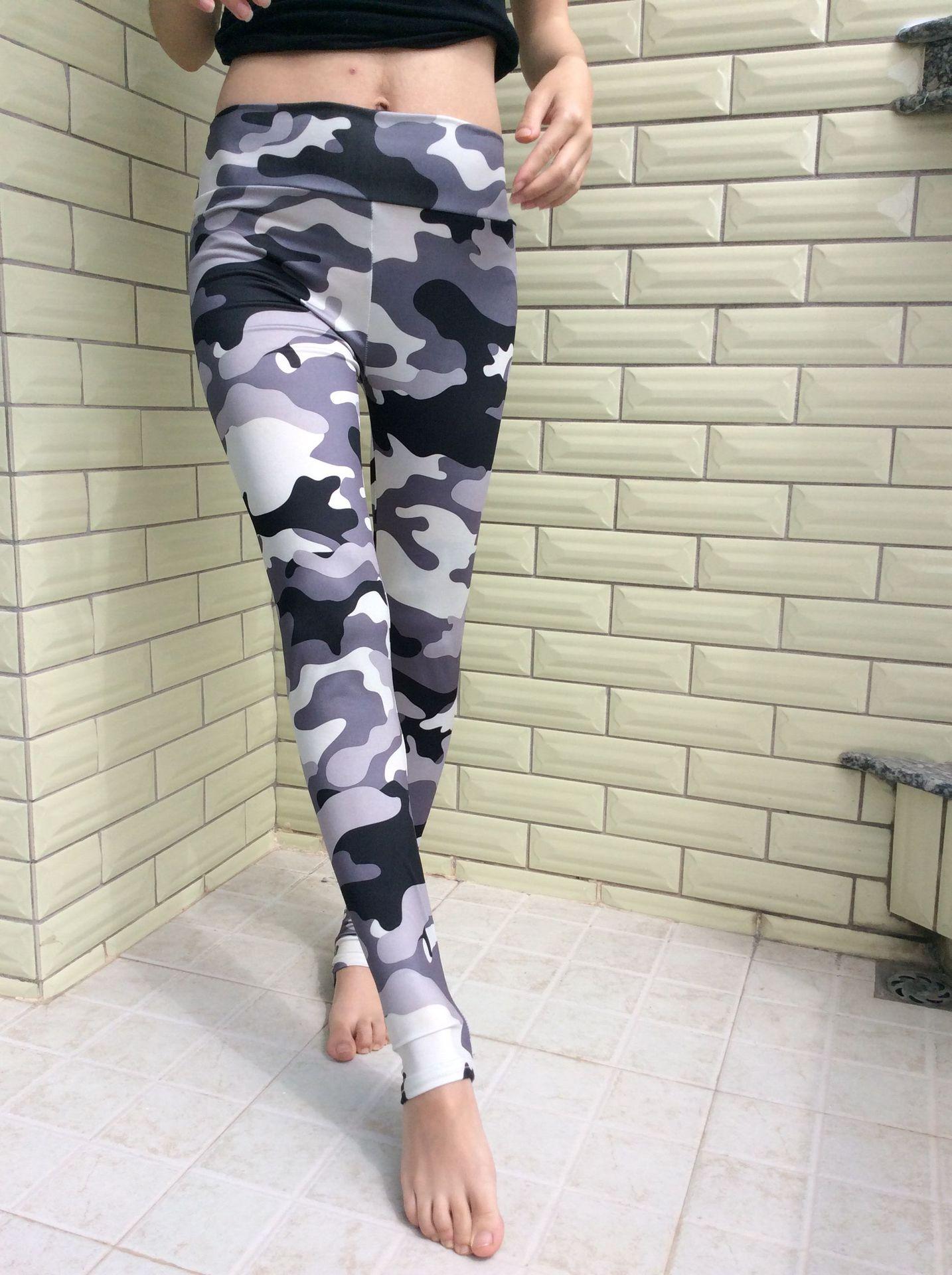 ML7687 Camo Print Sexy Lady Leggings