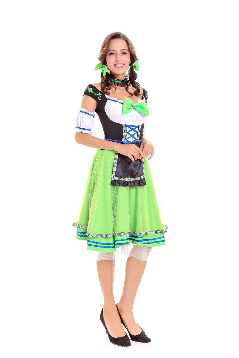 ML5592 French Maid Beer Girl Dress Costume