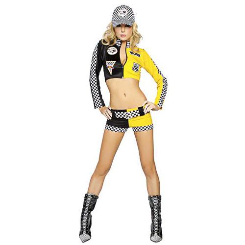 Full Throttle Sexy Racing Suit Costume