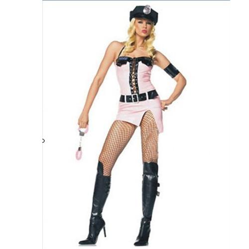 Pinky Cop Costume
