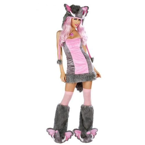 Pink Elephant Dress by J. Valentine & Deluxe Pink Elephant Costume