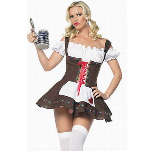 Beer Girl Deluxe Costume