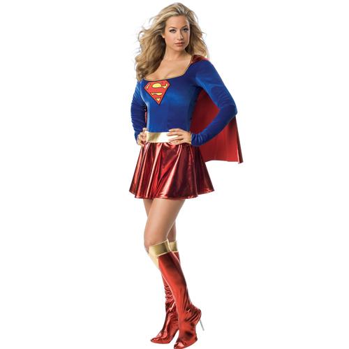 Fancy Dress Supergirl Costume