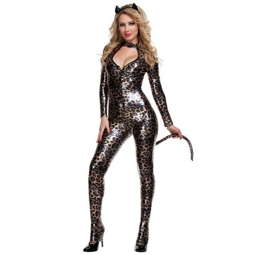 Women's Deluxe Sexy Wildcat Costume