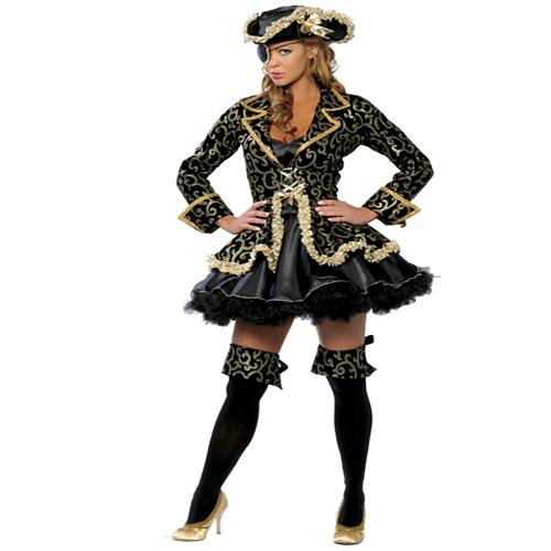 Adult Women Deluxe Pirate Halloween Costume