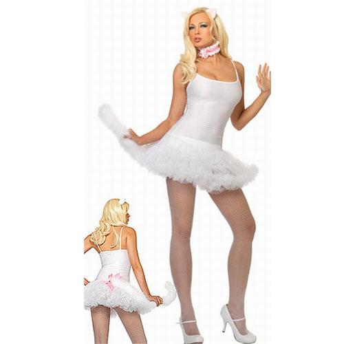 ML5258 White Petticoat Costume Dress