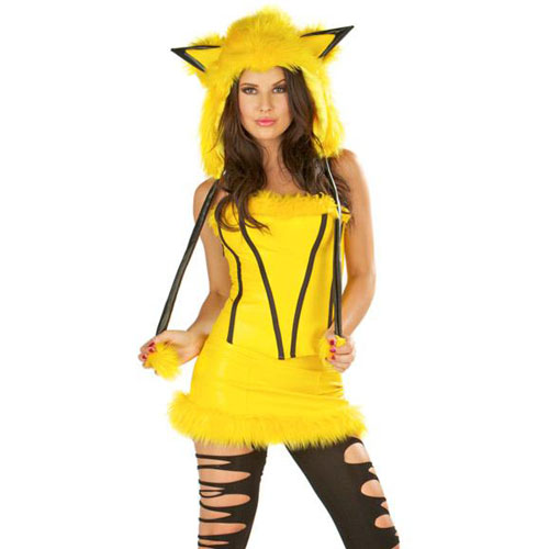 ML5266 Yellow Mouse Costume