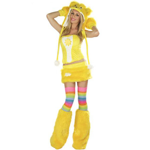 New Arrival Sexy Adult care bear costume