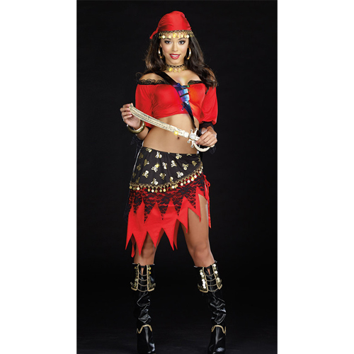 Women pirate Outfit