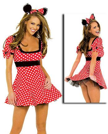 ML5365 Adult Mini Mouse Costume