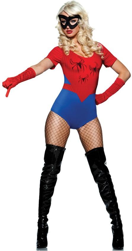ML5369 Sexy Spider Women Costume