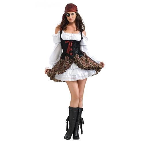 Women Buccaneer Babe Costume