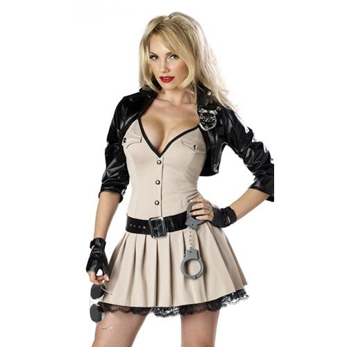 Highway Hottie Adult Costume