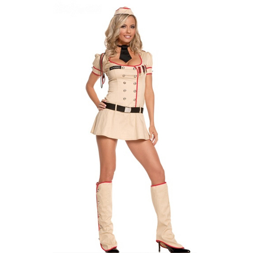 Sexy Elegant Sergeant Costume