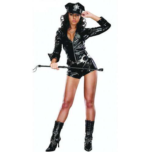 Sexy Adult Women Cop Costume Police Costume Carnival Dress