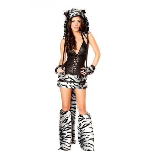 White Tiger Women Sexy costume